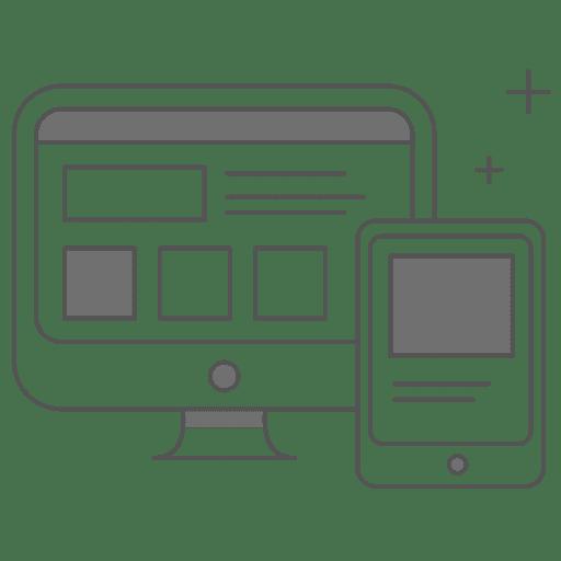 responsive website design illustration
