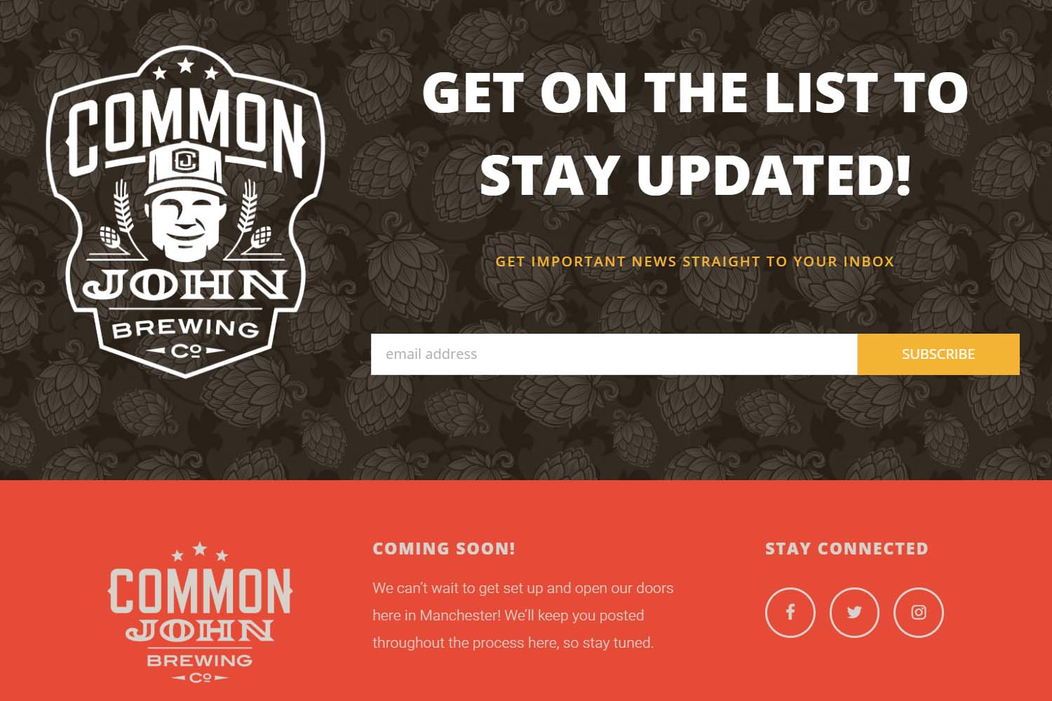 Brewery Mailing list