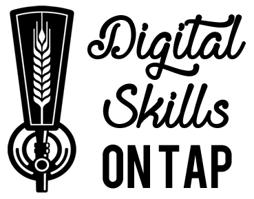beer digital skills tap handle